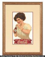 Scarce Coca-Cola Sign
