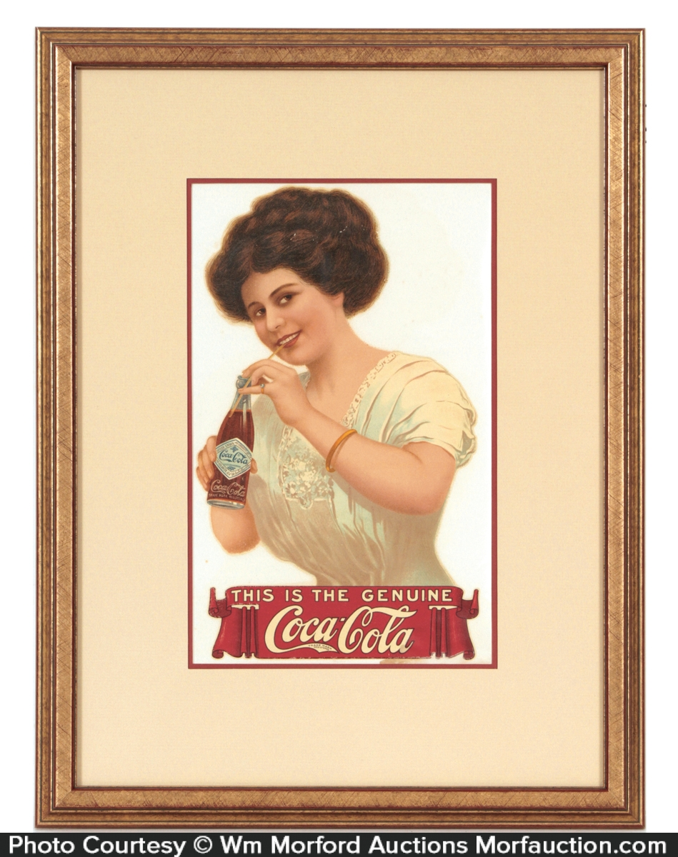 Scarce Coca-Cola Sign