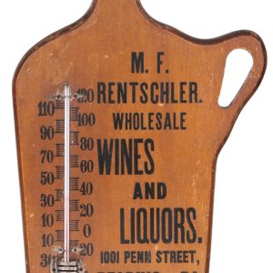 Whisky Jug Thermometer