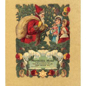 Santa Die-Cut