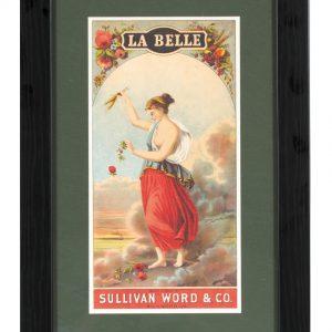 La Belle Tobacco Label