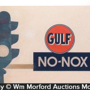 Gulf Oil Original Artwork