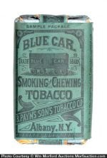 Blue Car Tobacco Sample