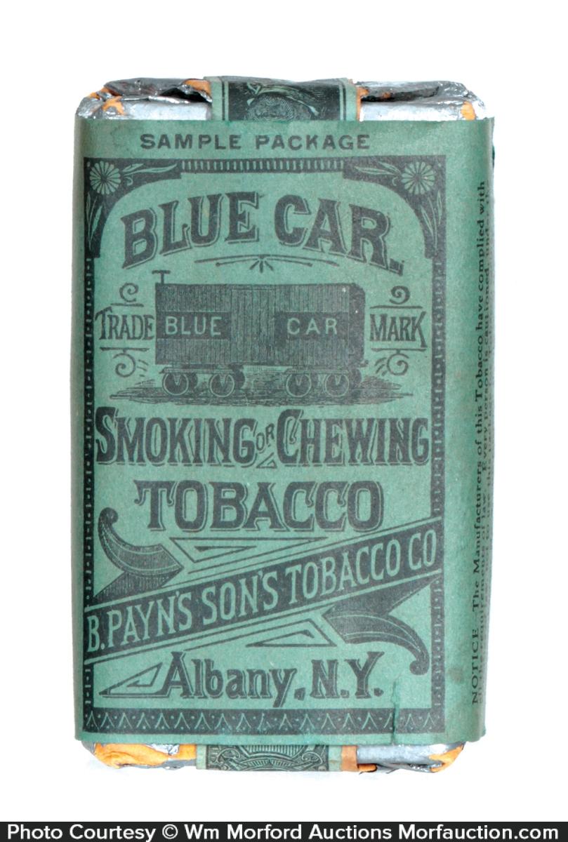 Blue Car Tobacco Sample