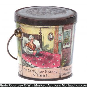 Red Riding Hood Candy Pail