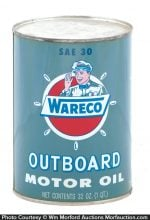 Wareco Outboard Motor Oil Can