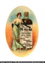 Peruna Catarrh Cure Mirror