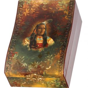 Celluloid Indian Box