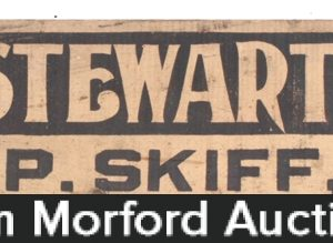 Stewart Stoves Sign