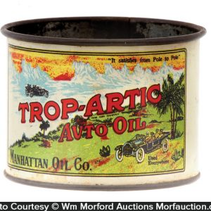 Trop-Artic Motor Oil Cup