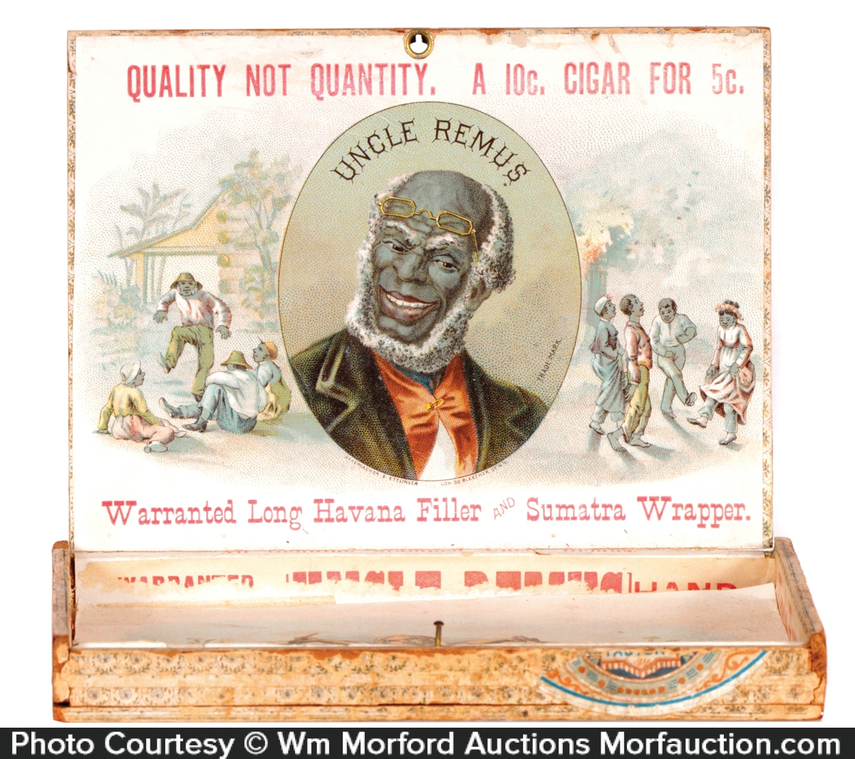 Uncle Remus Cigar Box