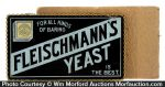 Fleischmann's Yeast Sign
