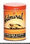 Admiral Polishing Cloth Tin