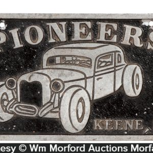 Pioneers Auto Plate