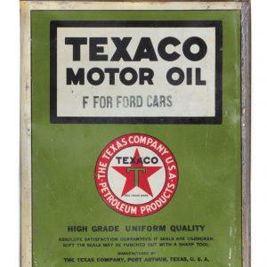 Texaco Motor Oil for Fords