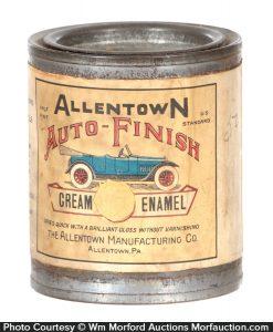 Auto Finish Tin