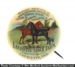 Horse Importers Pin-back