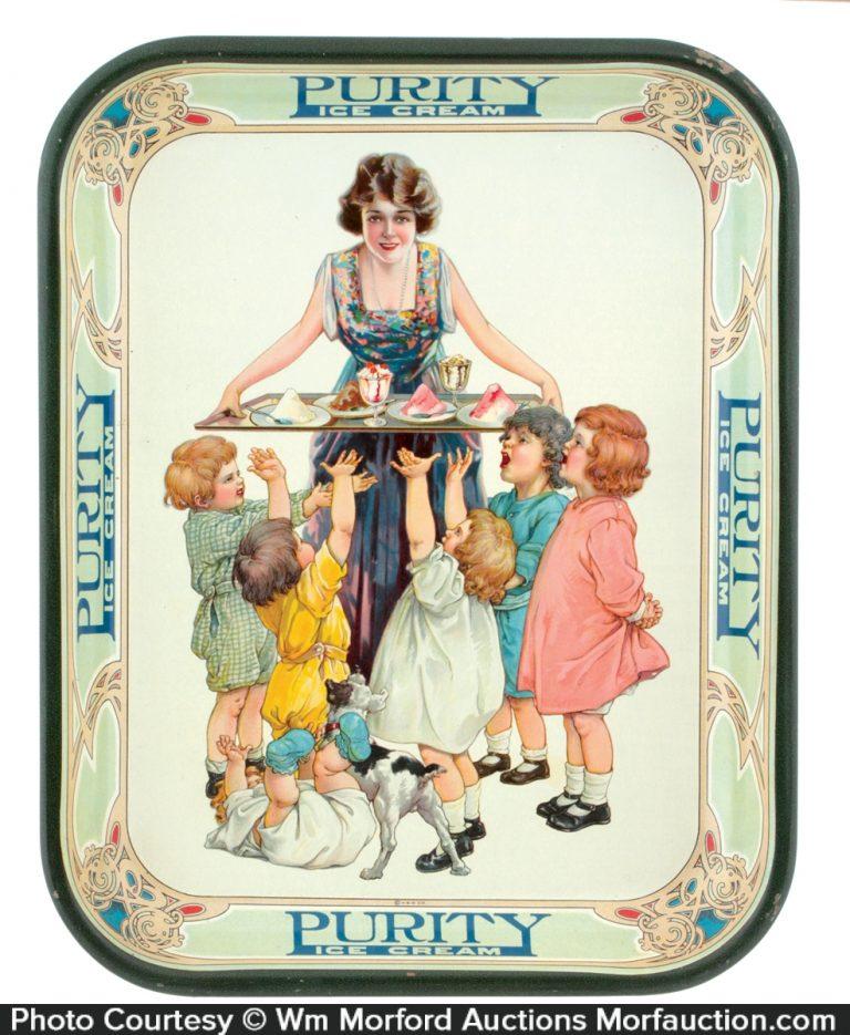 Purity Ice Cream Tray