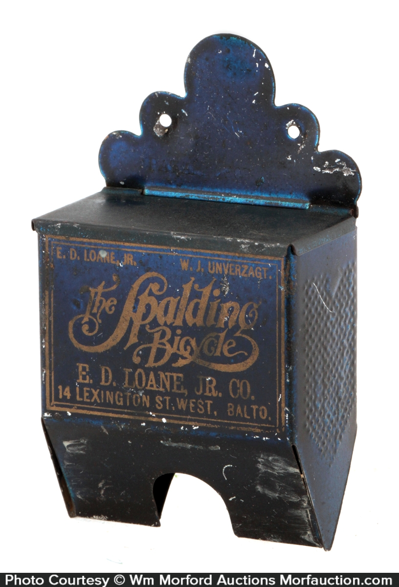 Spalding Bicycles Match Holder