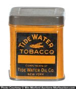 Tidewater Oil Co. Tobacco Sample