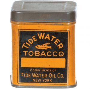 Tidewater Oil Co. Tobacco Sample