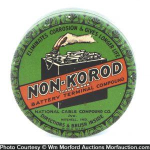 Non-Korod Battery Compound Tin