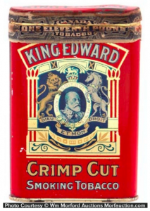 Canadian Tobacco Tins Part 1: Imperial Tobacco