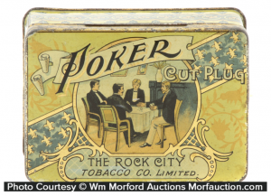 Poker Tobacco Tin