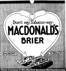 Canadian Tobacco Tins Part 3: MacDonald Tobacco Company