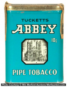Tucketts Abbey Pocket Tin