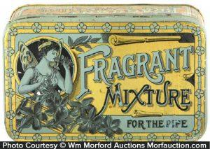 Fragrant Mixture Tobacco Tin