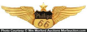Phillips Oil 66 Badge