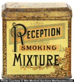 Reception Mixture Tobacco Tin