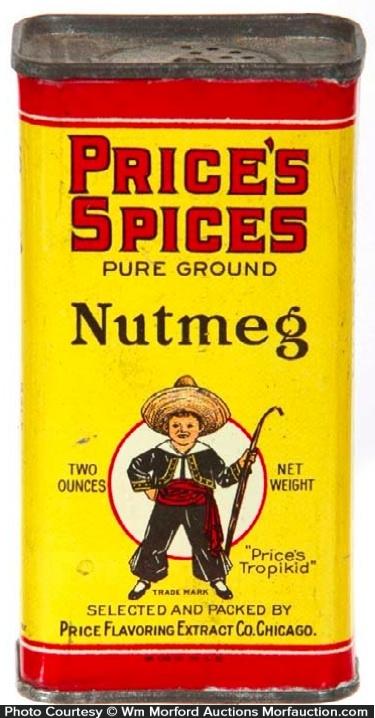 Price's Spices Tin