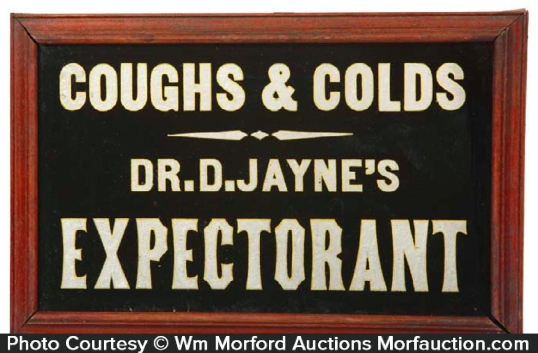 Dr. D. Jayne's Expectorant Sign