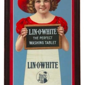 Lin-O-White Sign