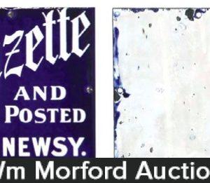 Pittston Gazette Sign