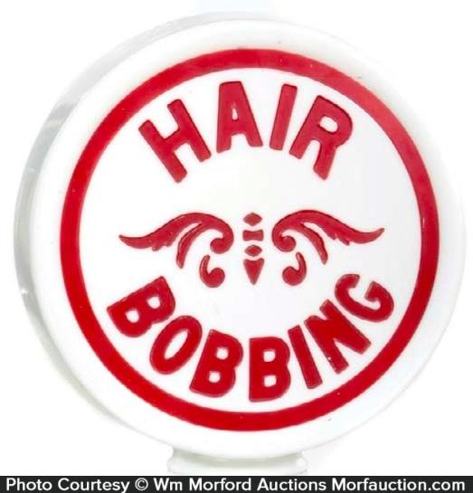 Hair Bobbing Globe Sign