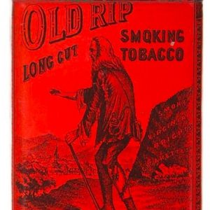 Old Rip Tobacco Tin