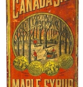Canada Sap Maple Syrup Tin