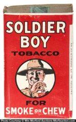 Soldier Boy Tobacco Pack
