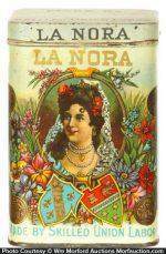 La Nora Cigar Tin
