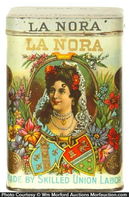 La Nora Cigar Tin