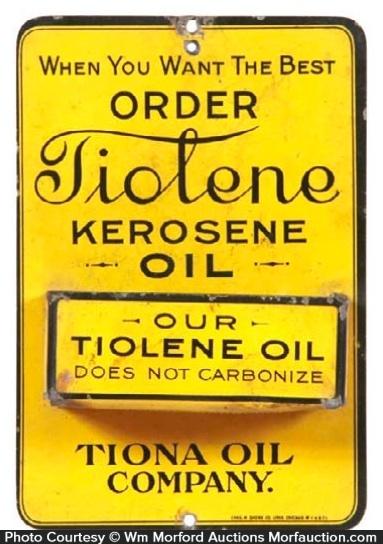 Tiolene Kerosene Oil Match Holder