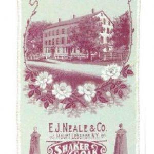 Shaker Cloaks Bookmark
