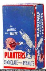 Planters Chocolate Peanuts Box