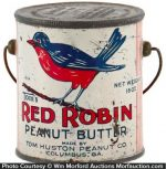 Red Robin Peanut Butter Pail