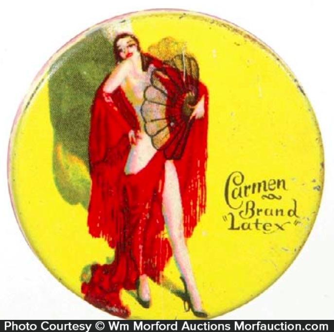 Carmen Condom Tin