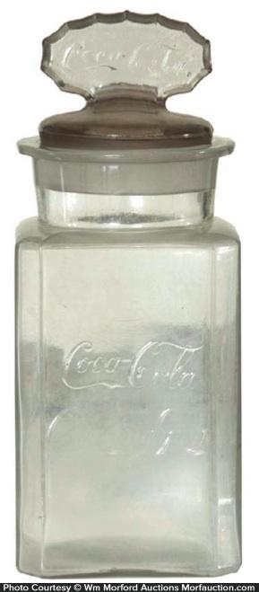 Coca-Cola Gum Jar