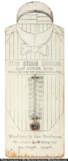 Star Steam Laundry Thermometer